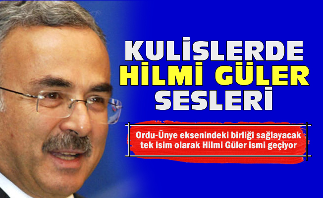 AK Parti'nin adayı Hilmi Güler mi?