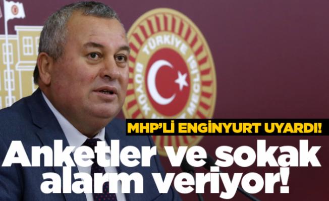 Cemal Enginyurt: AK Parti için anketler ve sokak alarm veriyor