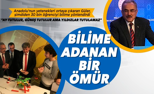 Bilime adanan bir ömür: Mehmet Hilmi Güler