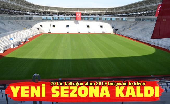 Yeni Ordu Stadı gelecek sezona kaldı