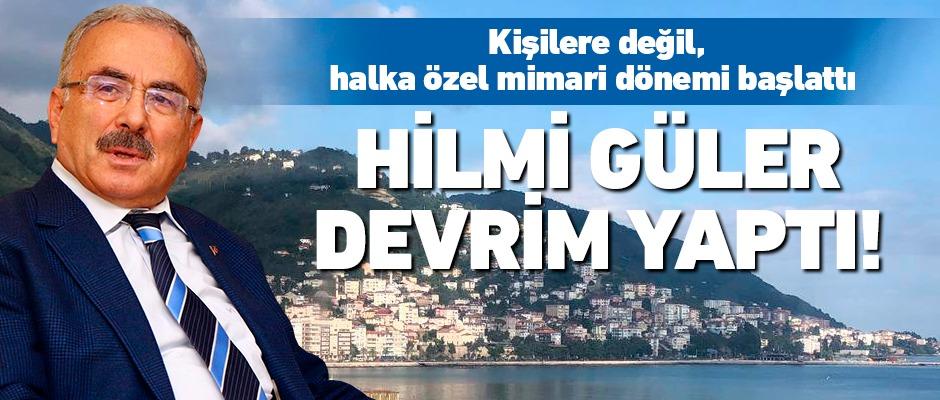Hilmi Güler'den devrim gibi karar!