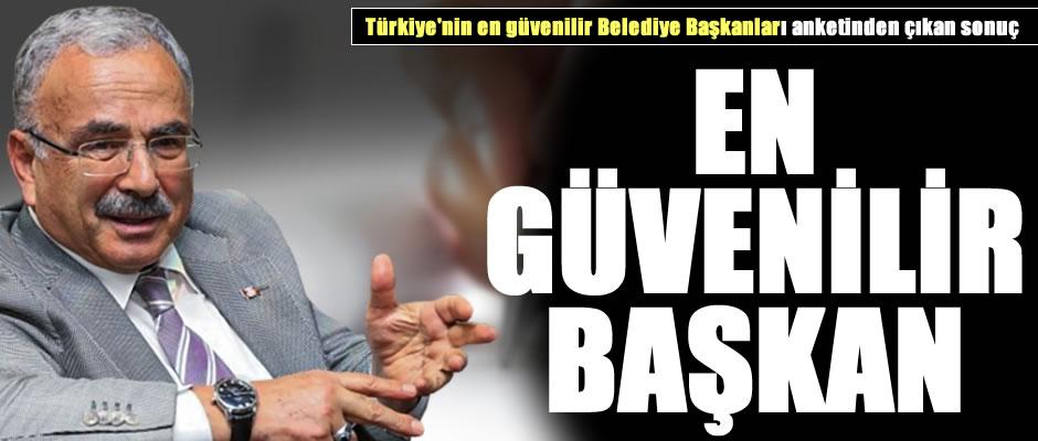 """Hilmi Güler, """"En Güvenilir Belediye Başkanları"""" arasında"""