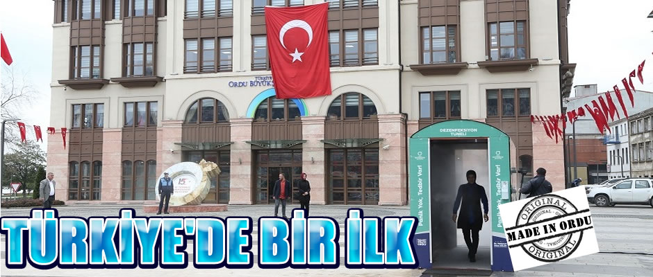 Made In Ordu: Dezenfeksiyon Tüneli'
