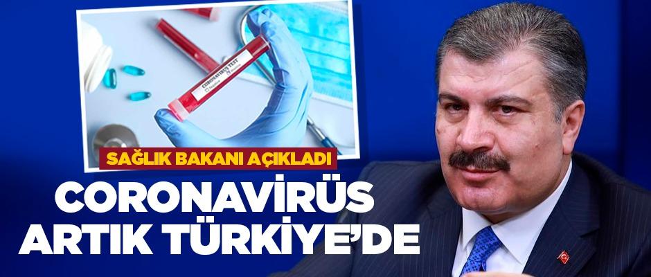 Türkiye'de ilk 'Koronavirüs' vakası