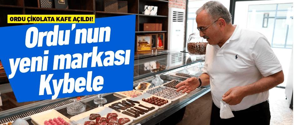 Ordu'nun yeni çikolata markası 'Kybele' oldu