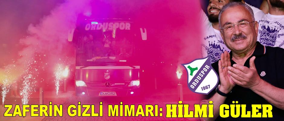 Orduspor zaferinin arkasındaki isim: Hilmi Güler