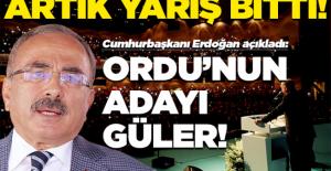 AK Parti'de Ordu'nun adayı Hilmi Güler!
