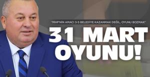 Cemal Enginyurt: 31 Mart oyununu bozacağız