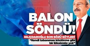 """Kılıçdaroğlu: """"İNŞ'yi dar alanda birisi arkadaşlarımıza önermiş"""""""