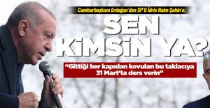 Cumhurbaşkanı Erdoğan, İdris Naim...