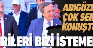 CHP'li Mustafa Adıgüzel, 'gülmekten başka işi olmayan adama' CHP'lilik dersi verdi!