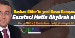 Metin Akyürek, Başkan Güler'in Basın Danışmanı oldu