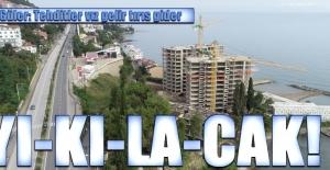 Karadeniz kıyısındaki gökdelenin yıkılacağı haberini veren başkan Güler: Tehditler vız gelir tırıs gider