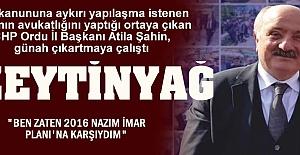 CHP'li Başkan günah çıkartmaya çalıştı ama papaz ortada yok