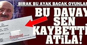 CHP'li Başkan davayı kaybedince kendini kaybetti