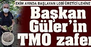ÜRETİCİ DOSTU BAŞKANIN TMO ZAFERİ