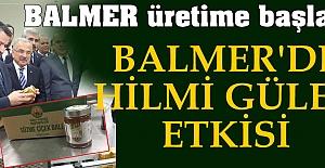 BALMER'de Hilmi Güler etkisi