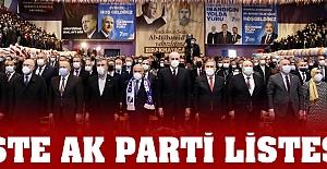 İşte AK Parti Ordu İl Yönetim Kurulu
