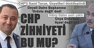 CHP'li Torun, Ünyeliyi Orduludan saymadı, Hilmi Güler'den fırçayı yedi